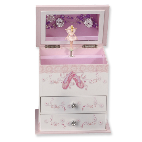 14k.co Childrens Musical Ballerina Jewelry Box
