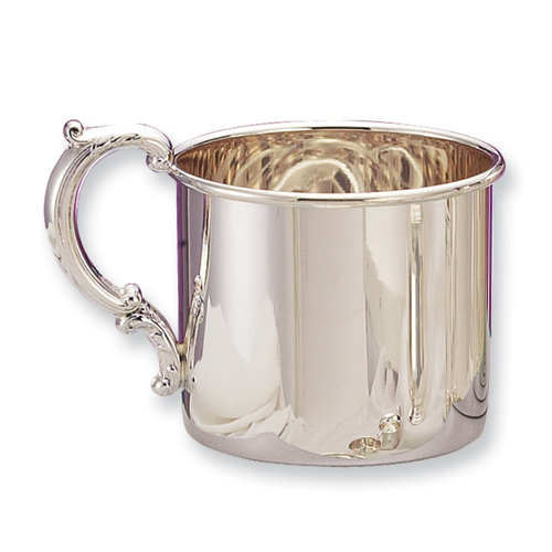 14k.co Sterling Silver Hollow Handle Baby Cup