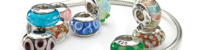 Hand Blown Glass Beads