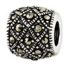 Reflection Beads Sterling Silver Marcasite Bali Bead