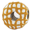 Reflection Beads Sterling Silver Enameled Donut Bead