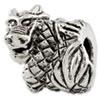Reflection Beads Sterling Silver Dragon Bead