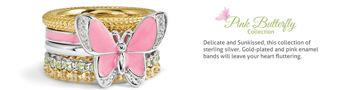 Pink Butterfly Collection