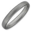 Stackable Expressions Sterling Silver Rhodium Satin Ring