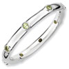 Stackable Expressions Sterling Silver Peridot Ring