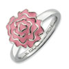 Stackable Expressions Sterling Silver Carnation Ring