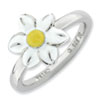 Stackable Expressions Sterling Silver Jonquil Ring