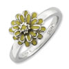 Stackable Expressions Sterling Silver Calendula Ring