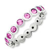 Stackable Expressions Sterling Silver October Swarovski Elements Ring