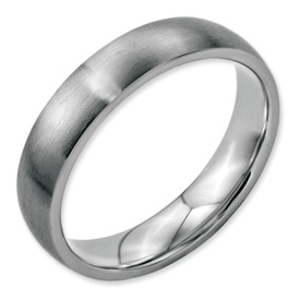 Chisel Stainless Steel 5mm Brushed Band
