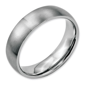 Chisel Stainless Steel 6mm Brushed Band