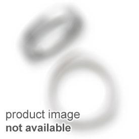 Stainless Steel Polished Black Carbon Fiber Inlay w/CZ 8.5 inch Bracelet
