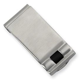 Chisel Stainless Steel Enameled Money Clip