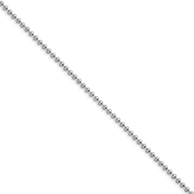 Chisel Stainless Steel 2.0mm 18 inch Ball Chain