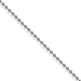 Chisel Stainless Steel 3.0mm 18 inch Ball Chain