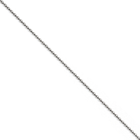 Chisel Stainless Steel 2.30mm 22 inch Cable Chain