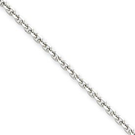 Chisel Stainless Steel 3.4mm 22 inch Cable Chain