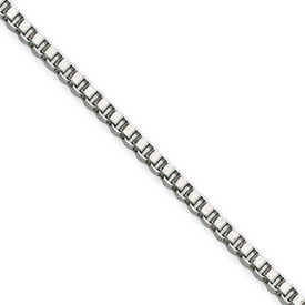 Chisel Stainless Steel 2.0mm 22 inch Box Chain