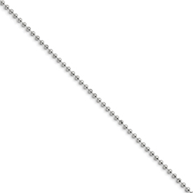 Chisel Stainless Steel 2.4mm 24 inch Ball Chain