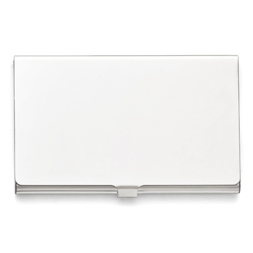 Stainless Steel Polished Card Holder