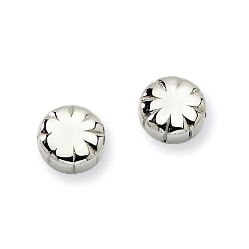 Chisel Stainless Steel Fancy Post Earrings