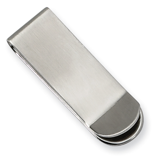 Chisel Stainless Steel Brushed Money Clip