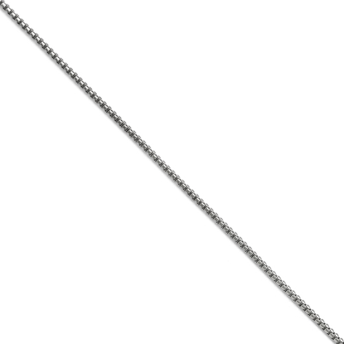 Stainless Steel 2.50mm Polished Fancy Box Chain