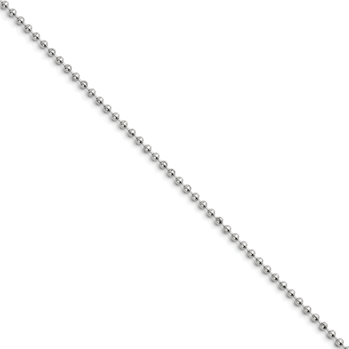 Stainless Steel 2.4mm 16in Ball Chain