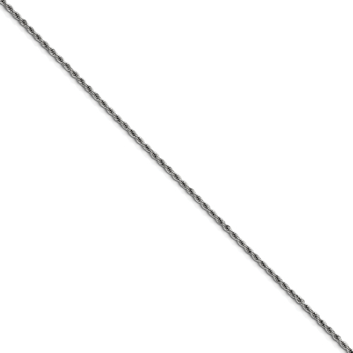 Chisel Stainless Steel 2.3mm 18 inch Rope Chain