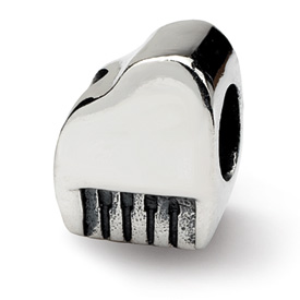 Reflection Beads Sterling Silver Piano Bead