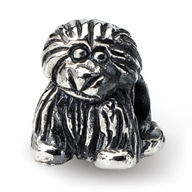 Reflection Beads Sterling Silver Kids Puppy Bead