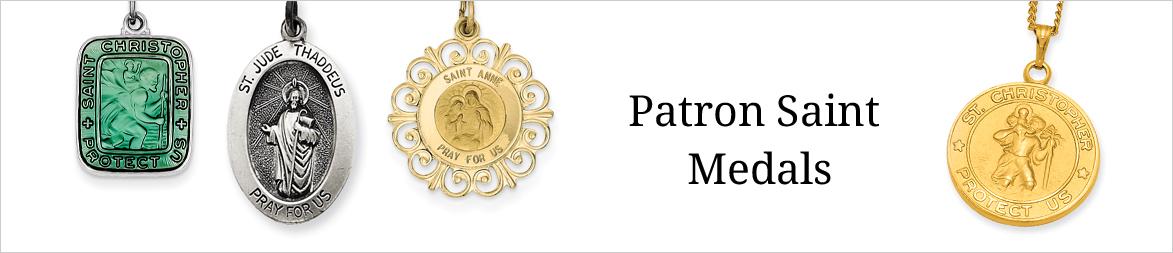 Awesome patron saint pendants awesome patron saint pendants shop patron saint medals quality gold audiocablefo aloadofball Choice Image