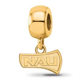 Sterling Silver GP LogoArt Northern Arizona University Bead Charm XS Dangl