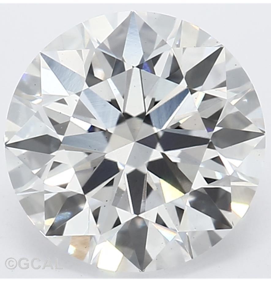 1.41-Carat Lab Created Ideally Cut Round Diamond