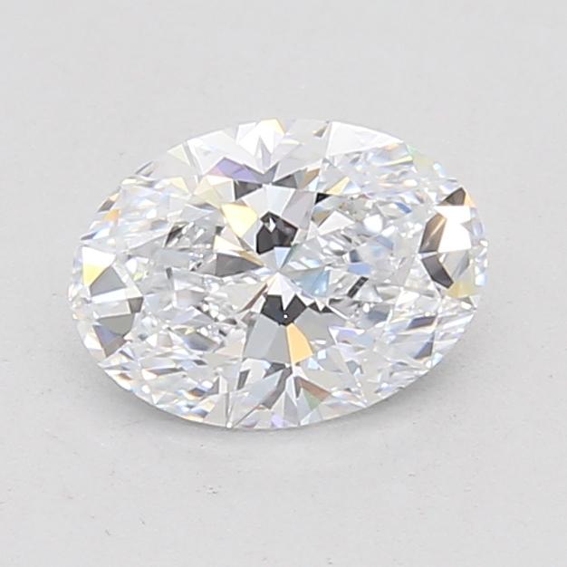 0.90-Carat Lab Created Ideally Cut Oval Diamond