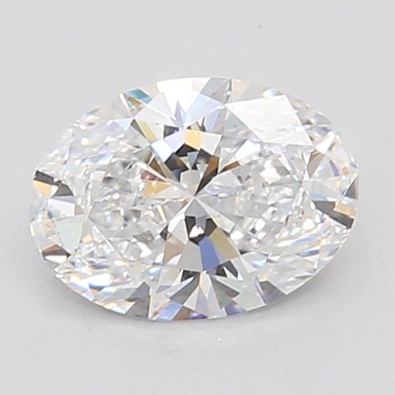 0.91-Carat Lab Created Ideally Cut Oval Diamond