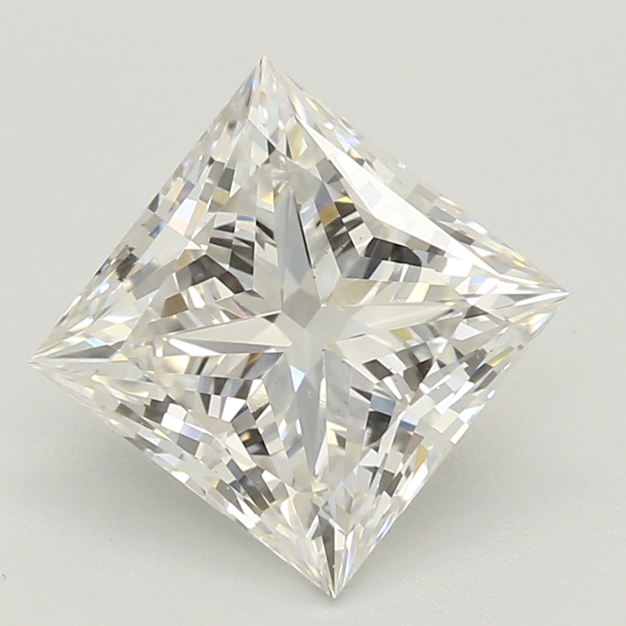 1.59-Carat Lab Created Ideally Cut Princess Diamond