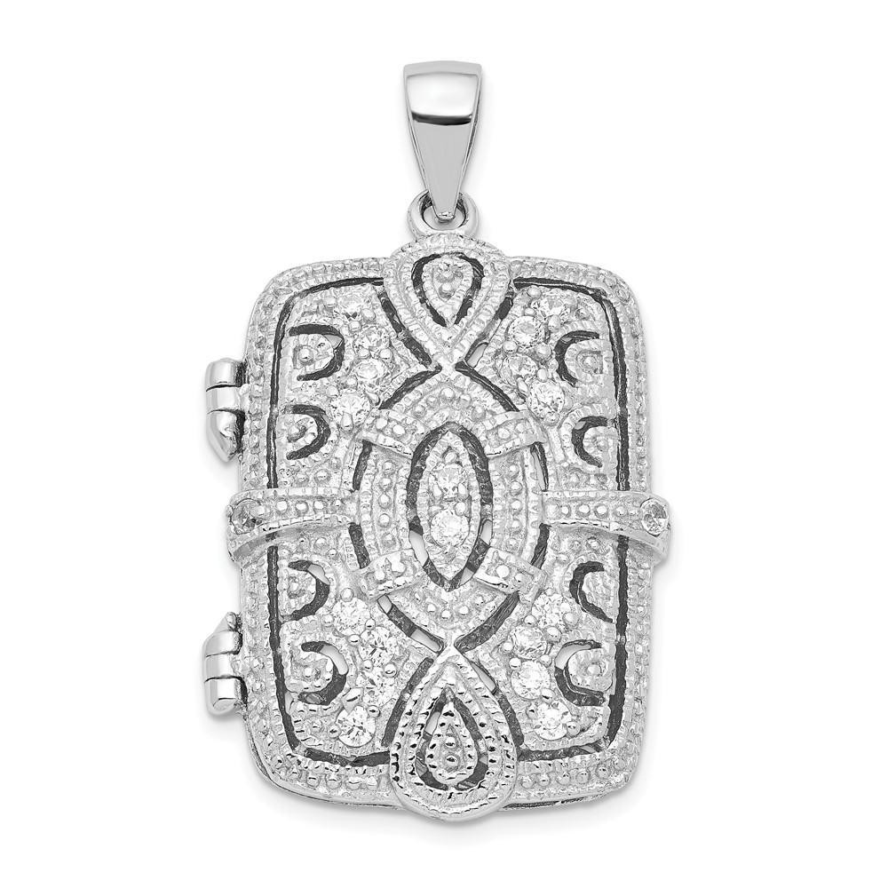 Sterling Silver Cz Oval Design Square Locket Pendant (1. New Gold Chains. Art Deco Diamond Bracelet. Baby Boy Pendant. Classic Men Watches. Gold Sparrow Necklace. Track Lighting Pendant. Artcarved Rings. Shamrock Bracelet