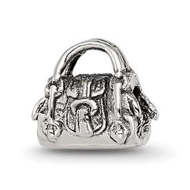 Reflection Beads Sterling Silver Kids Handbag Bead