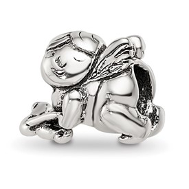 Reflection Beads Sterling Silver Kids Cupid Bead