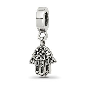 Reflection Beads Sterling Silver Chamseh Dangle Bead