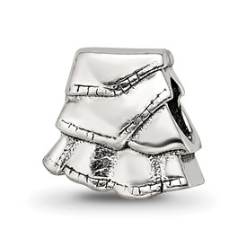 Reflection Beads Sterling Silver Kids Skirt Bead