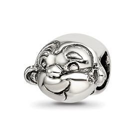 Reflection Beads Sterling Silver Kids Monkey Bead