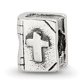 Reflection Beads Sterling Silver Kids Bible Bead