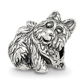 Reflection Beads Sterling Silver Kids Dog Bead
