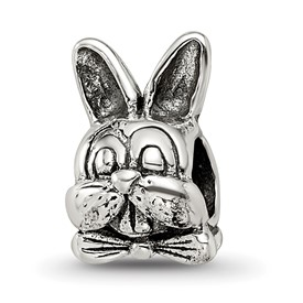 Reflection Beads Sterling Silver Easter Bunny Bead