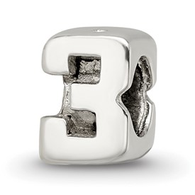 Reflection Beads Sterling Silver Kids Numeral 3 Bead