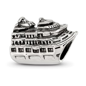 Reflection Beads Sterling Silver Cruise Ship Bead