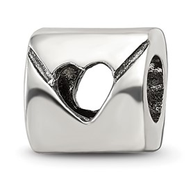 Reflection Beads Sterling Silver Love Note Bead