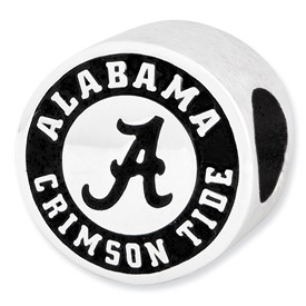 University of Alabama Sterling Silver Collegiate Bead